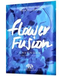 <b>Origins Flower Fusion Lavender</b> Soothing Sheet Mask & Reviews ...