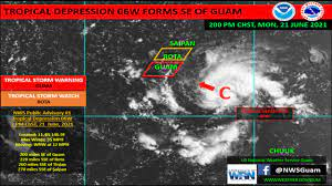 Guam moves to COR 3 as tropical storm ...