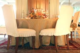 cotton dining chair covers chambray slipcover