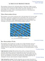 Online Technical Writing Headings