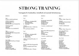 Trainingsplan abnehmen frau
