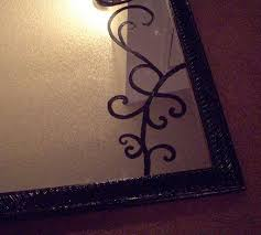 The Craft In Me: What to do with a cracked mirror