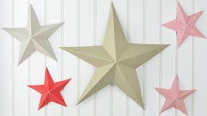 Weihnachtsdeko Basteln 3d Weihnachtsstern Aus Tonpapier