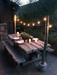 outdoor string light pole how to hang outdoor string lights lovely outdoor string light pole new