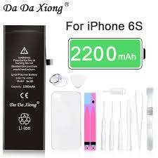 Hot <b>Da Da Xiong Lithium</b> Battery For Apple iPhone 6S 6GS Internal ...