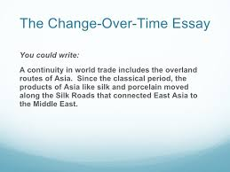 Ccot Essay China Trade Change Over Time Essay History Haven