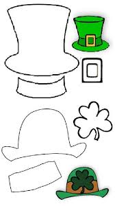 template of a leprechaun 20 best background papers st patricks day images on pinterest