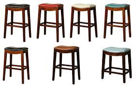 elmo leather bar stool