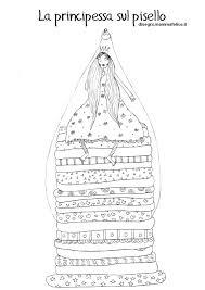 Disegno Da Colorare La Principessa Sul Pisello Disegni Mammafelice