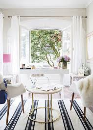 white airy home office. Airy Home Office White T