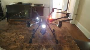 Helicopter Red Green Lights Drone Strobe