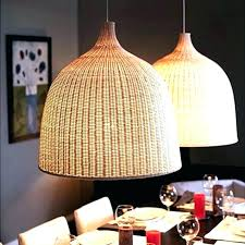 grey rattan ceiling light large woven pendant basket photo 4 of wicker lamp shade modern country cage w