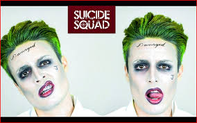 joker hairstyle 135364 the joker from squad hairstyle tutorial makeup tips