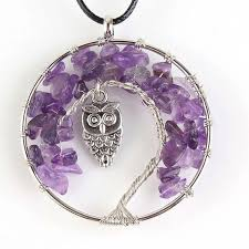 Online Shop <b>Trendy</b>-<b>beads Silver Plated</b> Wire Wrap Tree of Life ...