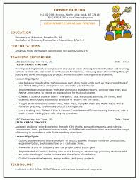 Resume Example Teaching Assistant