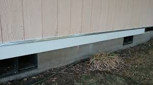once your trim is hung and leveled use exterior paint able caulk to seal the sides and pieces see the red lines below for where to seal