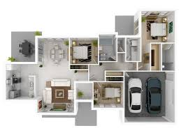 3 bedroom home design plans. 50 Three \u201c3\u201d Bedroom Apartment/House Plans | Simplicity And Abstraction. 3 Home Design