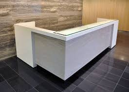 image of best l shaped reception desk with counter ideas