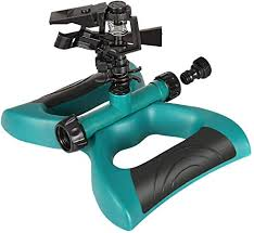 Cassby Lawn Sprinkler, Automatic <b>360 Degree Rotating Adjustable</b> ...