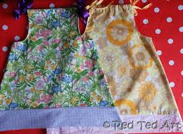 Pillowcase Dress Pattern Fascinating How To Make A Pillow Case Dress For Beginners Red Ted Art's Blog
