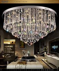 luxury crystal led chandelier modern crystal chandelier lighting fixtures plafon de cristal living room lights