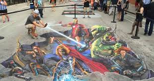Incredible 3d Chalk Art Coming To Rogers Park This Weekend