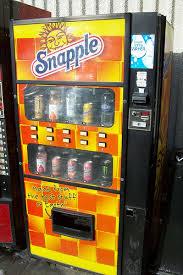 Snapple Vending Machine Impressive Snapple Vending Machine A Photo On Flickriver