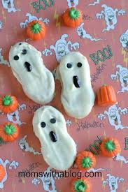 Nutty Buddy Size Chart Easy Nutty Buddy Ghosts Recipes Halloween Cookies Nutty