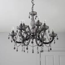 b q pink chandelier crystal light diy ideas 4