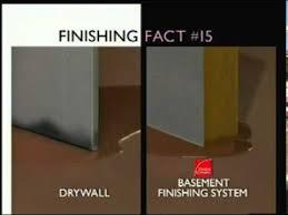 basement wall panels vs drywall