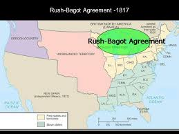 「The Rush-Bagot Agreement」の画像検索結果