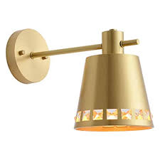 Nordic Light Luxury Copper <b>Wall</b> Lamp, <b>Modern Minimalist Creative</b> ...