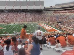 Longhorns Seating Chart Dkr Texas Memorial Stadium Section 27 Rateyourseats Com