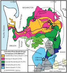 Of The Scientific Map Regional Diagram And Download Shows Volcanism Crbg Extent Areal Of