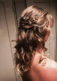 Romantisch Bruidskapsel Met Gipskruid Hair Tips Bruidskapsel