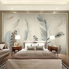 image of custom wall murals bedroom