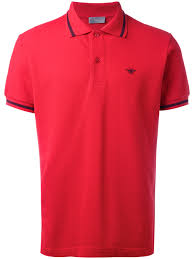 dior homme bee embroidered polo shirt 373 rouge men clothing shirts dior bags dior perfume history whole dealer