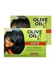 ors olive oil hair relaxer straightener
