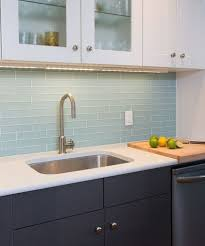 Innovation Kitchen Backsplash Glass Tile Blue Find This Pin And More On Frosted Creativity Ideas