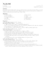 Call Center Resume Examples Best Samples Of Resumes For Customer Service Resume Customer Service