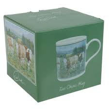 fine china cow mug cup by cachet young ones collection baby calfs gift boxed