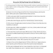 Persuasive Essay Topics 5th Grade Persuasive Essay 5th Grade Topics