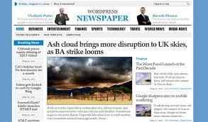 Wordpress Template Newspaper Wp Newspaper Gabfire Premium Wordpress Template