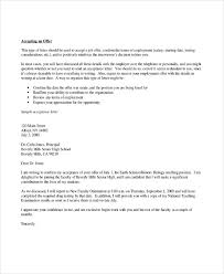 Thank You Job Offer Acceptance 4 Thank You Letter For Job Offer Templates Free Premium Templates