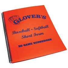 Glovers Short Form Scorebook