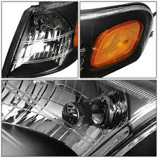 05 Chevy Venture / Pontiac Montana Replacement Crystal Headlights ...