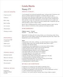 Nanny Resume Interesting 28 Nanny Resume Templates PDF DOC Free Premium Templates
