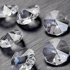 2018 bulk 14mm 2 holes crystal octagon bead prism chandelier crystal from hcfwjsw1314 0 07 dhgate com