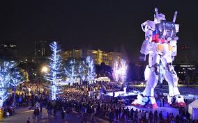 life size unicorns the life size gundam in tokyo will be replaced by the unicorn gundam