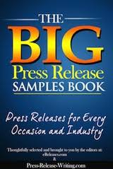 Sample Press Release For Book Big Press Release Samples Book